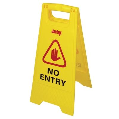 Panneau de sécurité accès interdit