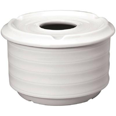 Cendrier d'eau Intenzzo White 110mm par 4