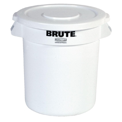 Collecteur Rubbermaid Brute blanc 121,1L