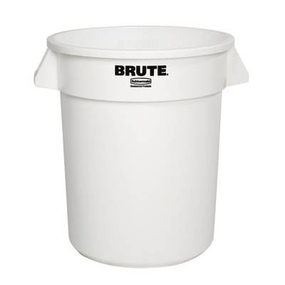 Collecteur Rubbermaid Brute blanc 37,9L