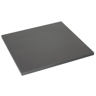 Plateau de table carré Lamidur anthracite 600mm