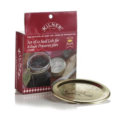 Joints de rechange pour bocaux à conserve à vis Kilner par 12