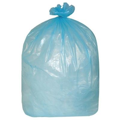 Sacs poubelle  80L bleus par 200