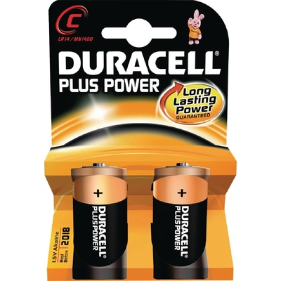 Piles C Duracell par 2