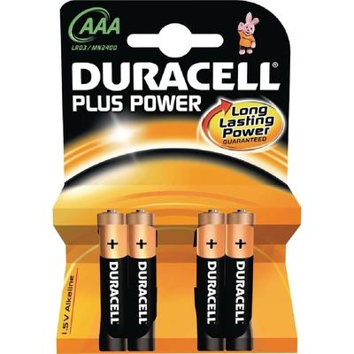 Piles AAA Duracell x4