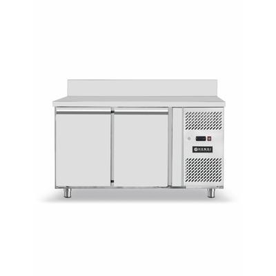 Réfrigérateur comptoir avec deux portes Profi LIne inox  1360x700x(H)850