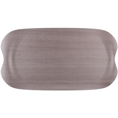Petit plateau gris écologique Roltex 430x230mm