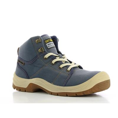 Chaussure de sécurité montante DESERT bleue