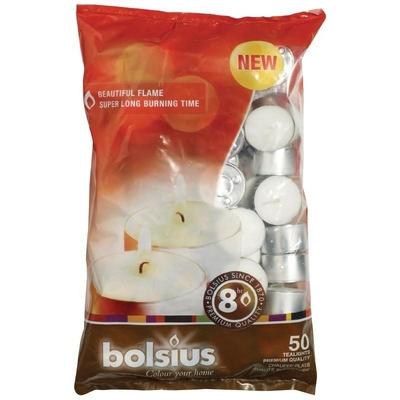 Bougies chauffe plats Bolsius 8 heures par 50