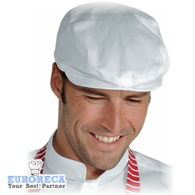 Casquette de boucher COPPOLA blanche