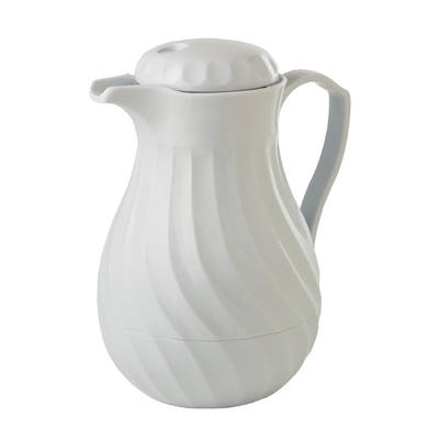 Cafetière isotherme Kinox blanche 1,1L