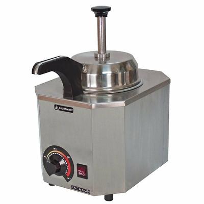Distributeur simple avec pompe et bec chauffant JM Posner 0,9L