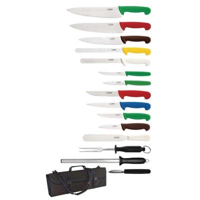 Mallette à couteaux de cuisine 15 pièces