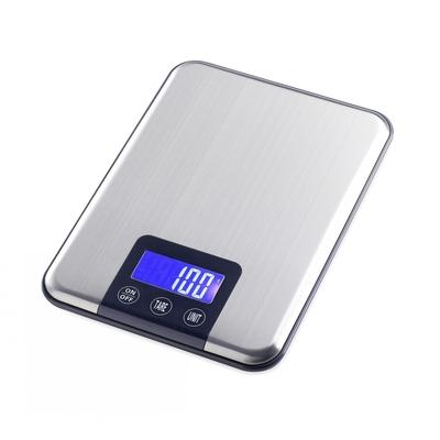 Numérique Balance de Cuisine 15 kg précision au gr inox