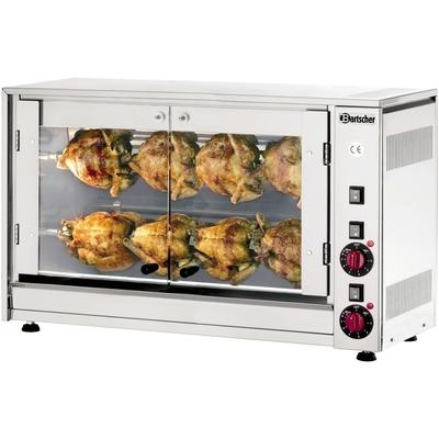 Rôtissoire électrique 2 broches  6 / 8 poulets