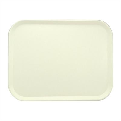 Plateau de service en polyester Roltex America 460x360mm blanc perle