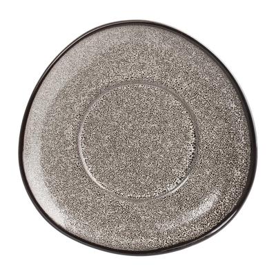 Soucoupes triangulaires Mineral 150mm par 6