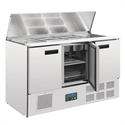 Comptoir réfrigéré à salades 368L