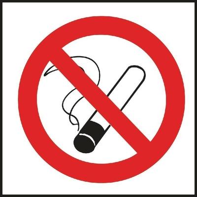 Panneau autocollant interdiction de fumer