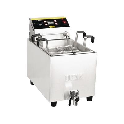 Cuiseur à pâtes inox avec minuterie 8 litres