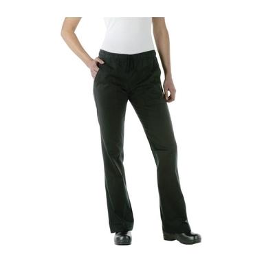 Pantalon professionnel noir pour femme