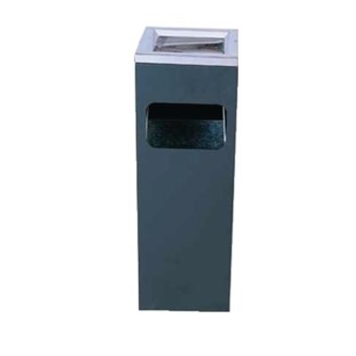 Cendrier poubelle carré