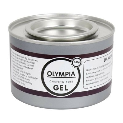 Gel combustible pour chauffe-plat  200g x12