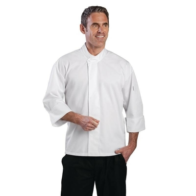 Veste Chef unisexe Orlando blanche