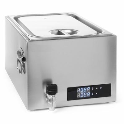 Cuiseur Sous-Vide GN 1/1 Inox 20L 600W
