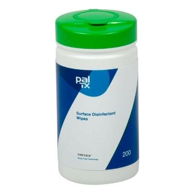 Lingettes désinfectantes Pal pour thermomètres digitaux par 6 boites de 200