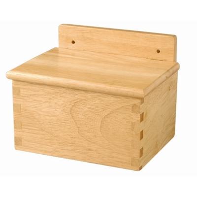 Boîte à sel en bois