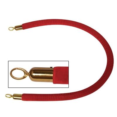 Corde pour barrière rouge