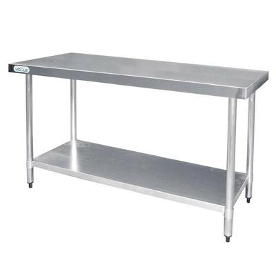 Table De Travail Inox sans Rebords 1500x600x900(h)mm