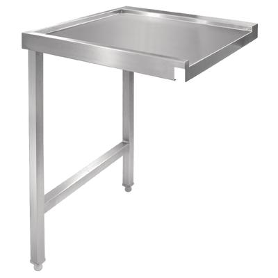 Table de sortie gauche pour lave-vaisselle à capot 600mm