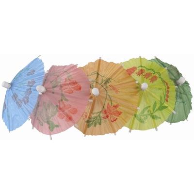 Parasols en papier différentes couleurs par 144