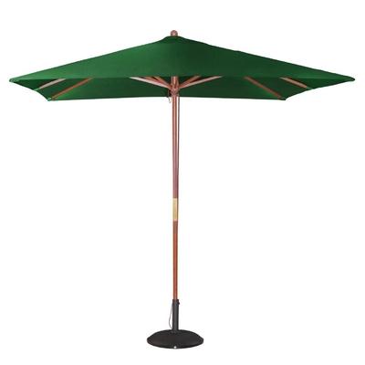 Parasol carré 2,5m vert