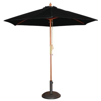 Parasol rond noir 2,5m