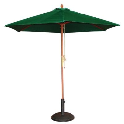 Parasol rond vert 2,5m