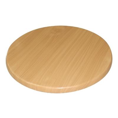 Plateau de table rond hêtre 800mm