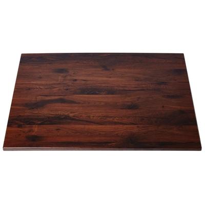 Plateau de table rectangulaire chêne antique Werzalit 1100mm