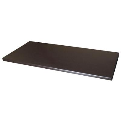 Plateau de table rectangulaire Werzalit wengé 1100mm