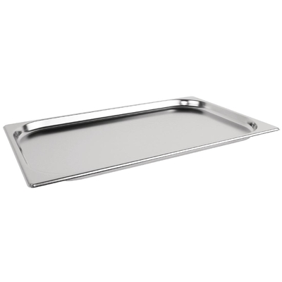 Bac Gastronorme inox GN 1/1 20mm