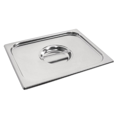 Couvercle GN 1/2 inox professionnel