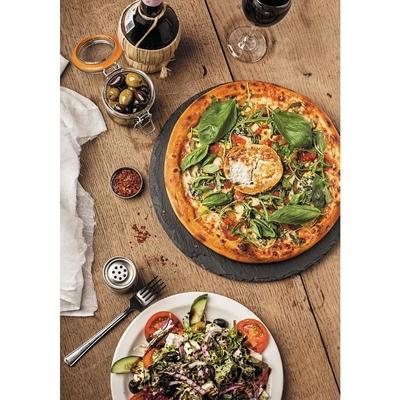 Plateau à pizza en ardoise Olympia 330mm