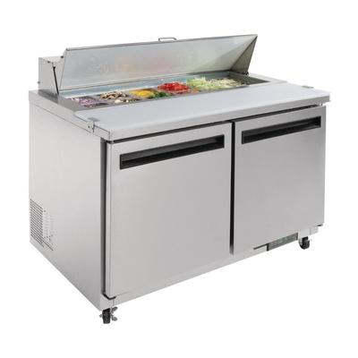Comptoir de préparation saladette 2 portes 405L