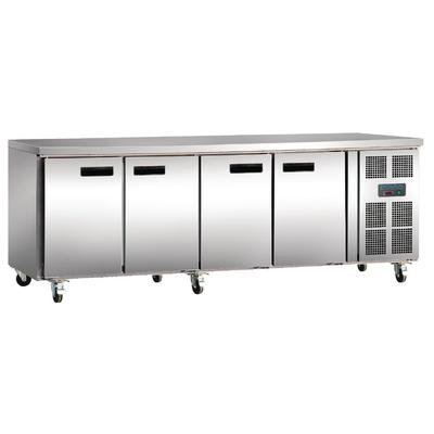 Table réfrigérée positive 4 portes 449L Polar