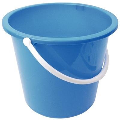 Seau rond en plastique Jantex 10L