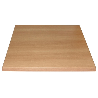 Plateau de table carré Bolero hêtre 600mm