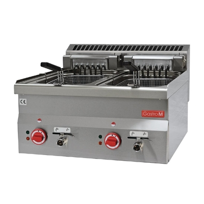 Friteuse électrique Gastro M 2x 10L