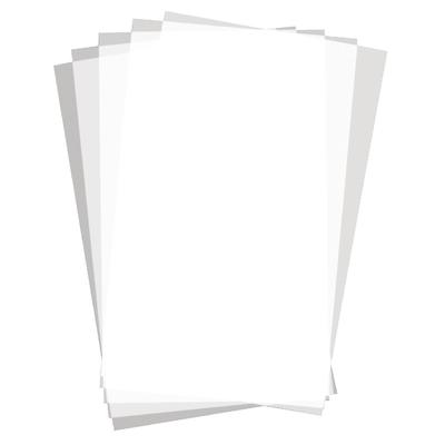 Carrés de papier sulfurisé sans imprimé par 500